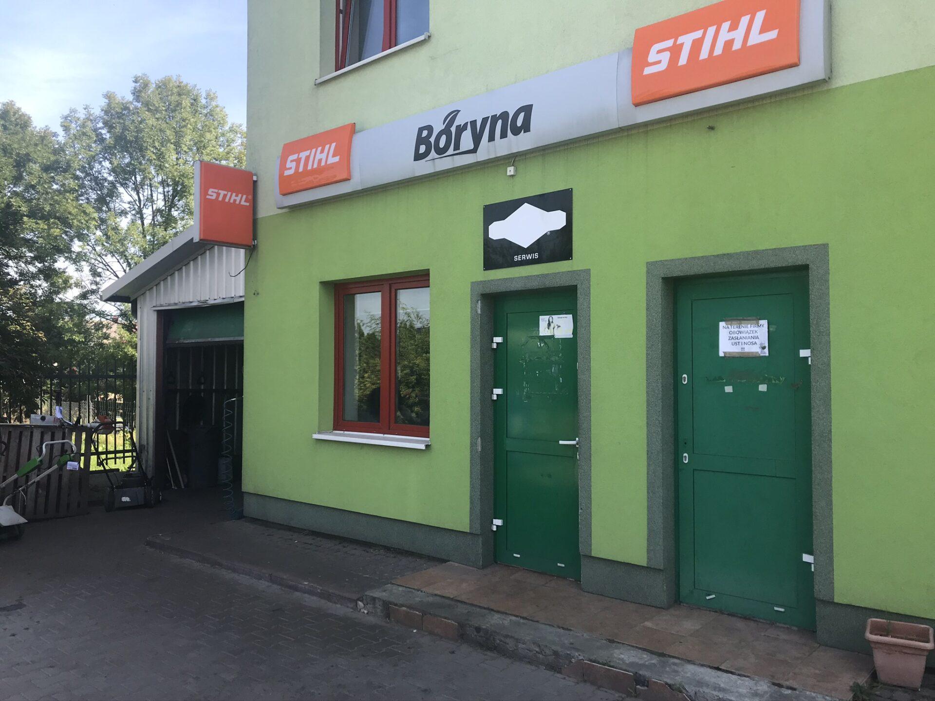 Boryna - serwis i sklep ze sprzętem Stihl
